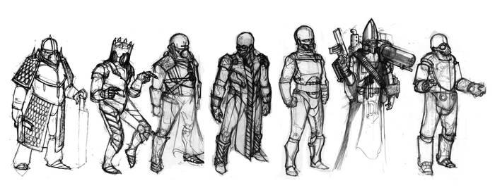 Titan designs by Xechireon