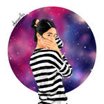 Galaxy Girl 1 by nadanaa