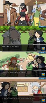 Crystal Story 2 Npc 2 and some screenshots by Lan14n