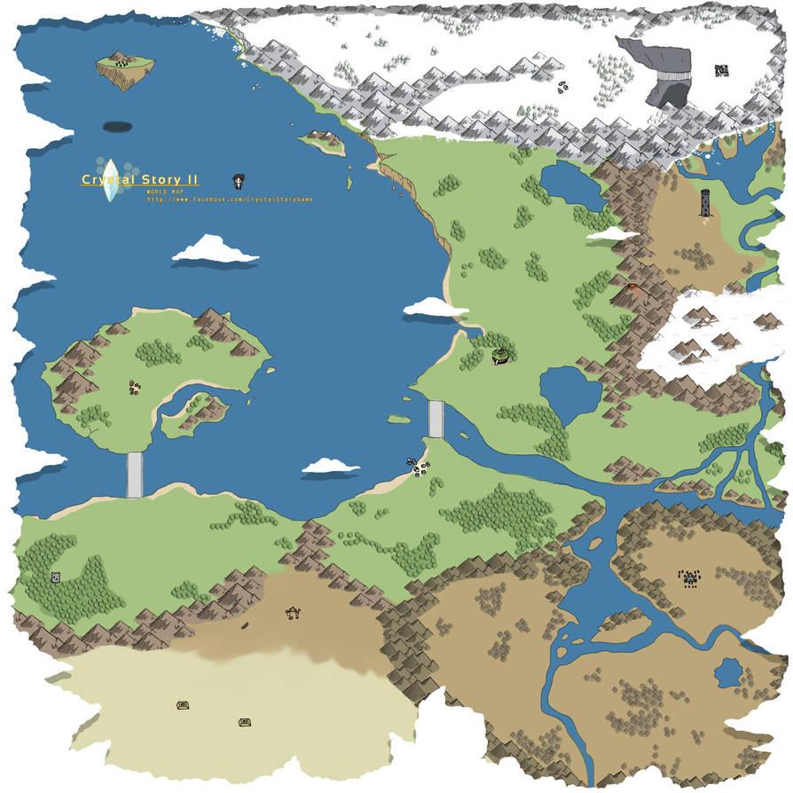 World Map by Lan14n