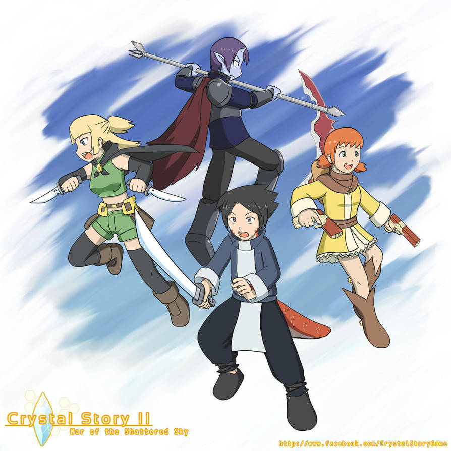Crystal Story II Character Ultimates by Lan14n