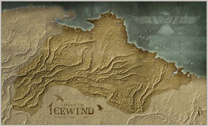 The Lands of the Icewind by arsheesh
