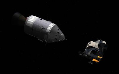 Apollo 11 by OccamsRayzor