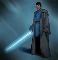 Spock the jedi by Stuukstly
