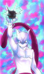 +psychic purple cat+ by Jack666rulez