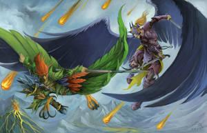Winged Battle by MilonasDionisis