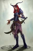 Half-fiend by MilonasDionisis