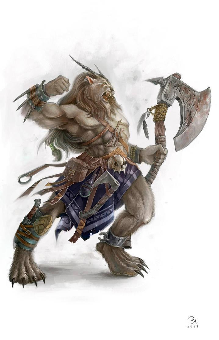 Feldari Barbarian by MilonasDionisis