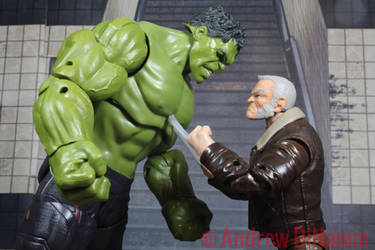 Hulk v Old Man Logan by GhostLord89