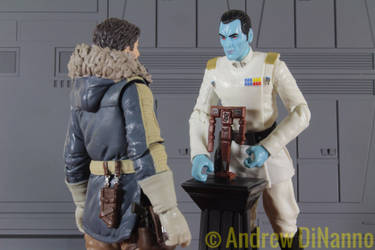 Cassian Andor meets Grand Admiral Thrawn  by GhostLord89