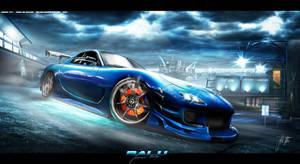 Mazda RX-7 by Balu32
