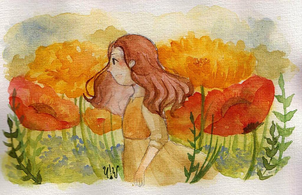Arrietty by UltramarineWitch