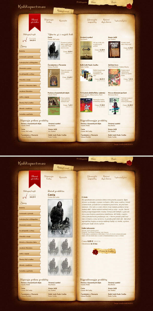 online bookstore - publishing by aevel