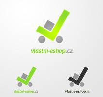 ecommerce system logotype by aevel