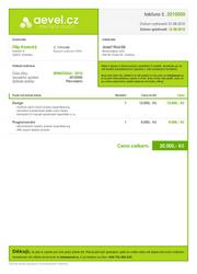 invoice design by aevel
