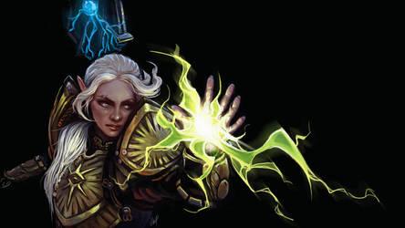 Inquisitor Lavellan by EshiraArt