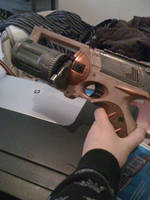 Steampunk Nerf Maverick pt 4 by veririaa