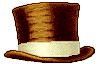 Brown Top Hat by veririaa
