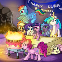 happy birthday Luna by CSImadmax