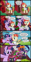 little library of HORROR! by CSImadmax