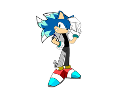 Skid the Hedgehog by skidthehedgehog223