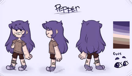 pepper 2.0 by becreepy