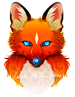 Ucen (Bust Commission for AbdouBouam) by lostintheflowoftime