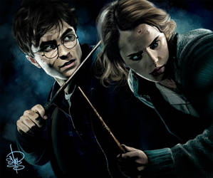 Harry and Hermione by SnobVOT