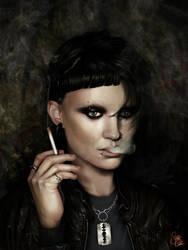 Lisbeth Salander by SnobVOT