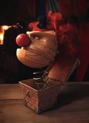 Wooden Clown by SnobVOT
