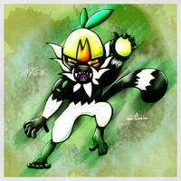 Pokemon of the Week - Passimian by Noyle