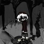 SCRAPPED idea - 'Inked in Despair' by Reptilian-Angel
