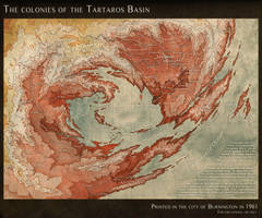 The Tartaros Basin, a map of hell by LingonB