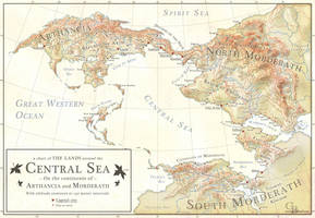 Lands around the Central Sea map by LingonB
