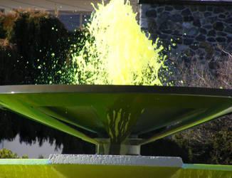 Green Fountain by Pinballwzd