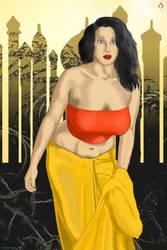 Baronial Lady by anshulrawal