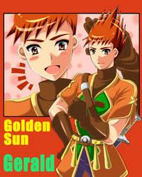 Golden Sun Gerald by gmb83