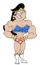 I'm Wonder Gal! I'm Super Strong and Popular! by TheFranksterChannel