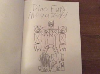 PW Op Dd: Dino Fury Megazord by FoxFlameBlade125