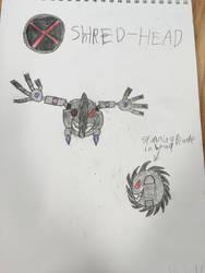XL 12: Shred-Head by FoxFlameBlade125