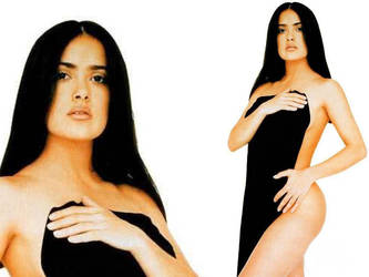 Salma Hayek by Thrumm