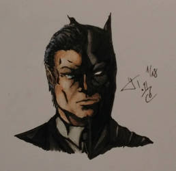 Batman (Fanart)  by LloydTaro