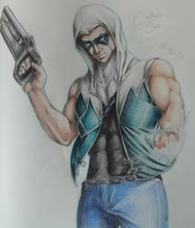 Captain Cold (Fanart) by LloydTaro