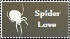 Spider Love Stamp by cosmicspider