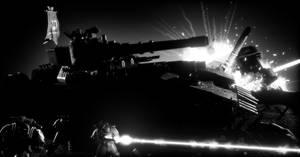 B/W: Assault by Joazzz2