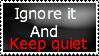 Keep quiet by twilirito94