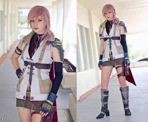 Lightning Final Fantasy XIII Cosplay by AlysonTabbitha
