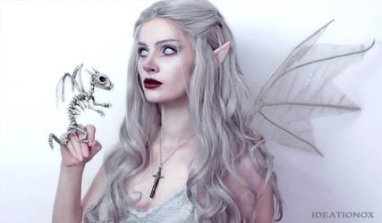 Dragon Skeleton - IDEATIONOX by AlysonTabbitha