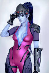 No one can hide form my sights~ Widowmaker cosplay by AlysonTabbitha