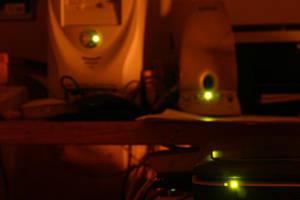 Green Eyed Technology by Healer-Guy
